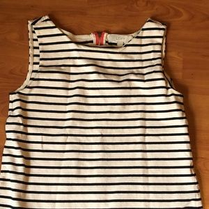 The LOFT striped dressy striped tank top